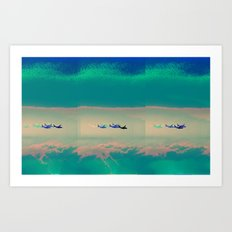 aero planes Art Print