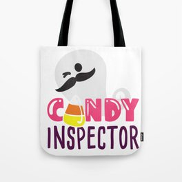 Candy Corn Inspector Ghost Gift Collection Tote Bag
