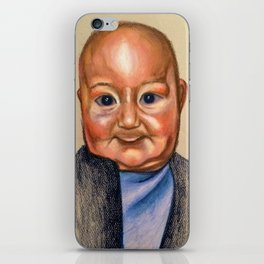 Slight Giggle  iPhone Skin
