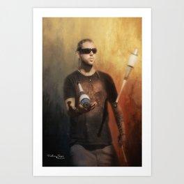The Juggler Art Print