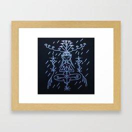 silver  elf Framed Art Print