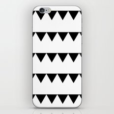 TRIANGLE BANNERS (Black) iPhone & iPod Skin