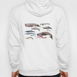 Deep sea whales Hoody