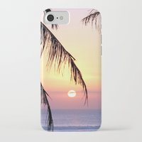 bali iPhone & iPod Cases featuring Bali Sunset by Coconut Living