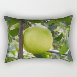 Green Apple Rectangular Pillow