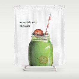 La Cuisine Fusion - Smoothie with Chouriça Shower Curtain