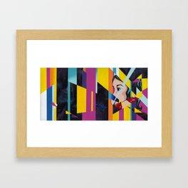 Shatter Me Framed Art Print