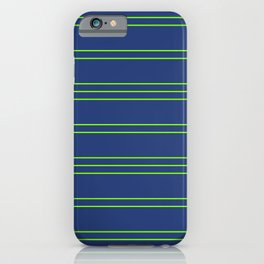 Simple Lines Pattern bg iPhone Case