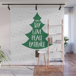 Tree of Christmas Present Wall Mural