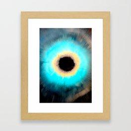 Cosmic Void Black Hole 3 Framed Art Print