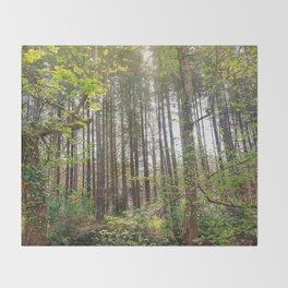 Woods Nature Throw Blanket