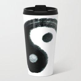 Ying & Yang Metal Travel Mug