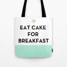 Eat Cake for Breakfast - Kate Spade Inspired Tote Bag