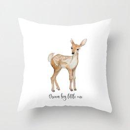 Little Fawn Throw Pillow