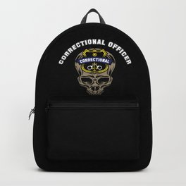 Proud Correctional Officer Backpack