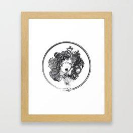Med-usa with seal Framed Art Print