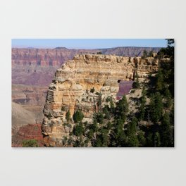 Angel's Window At Cape Royal Grand Canyon Canvas Print