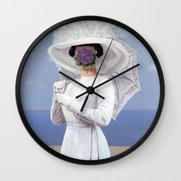 Vintage poster-Rene Magritte-The Great War. Wall Clock