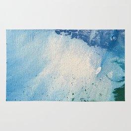 Environmental Blue and Green Painting # 7 Rug