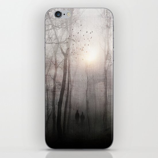Eternal walk iPhone & iPod Skin