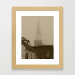 Ghost Church III Framed Art Print