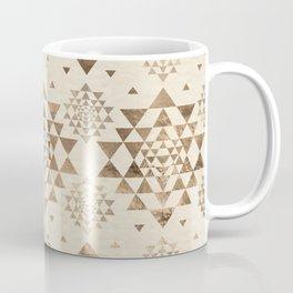 Sri Yantra  pattern - pastel gold Coffee Mug