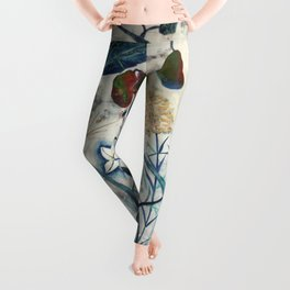 nature【Japanese painting】 Leggings