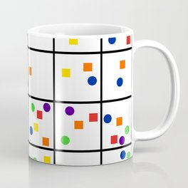 Color Blocks Coffee Mug