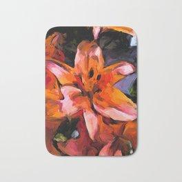 Lilies of Orange 2 Bath Mat