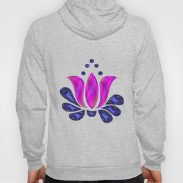 Born of Lotus Abstract Art Hoody