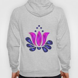 Born of Lotus Abstract Art Hoody