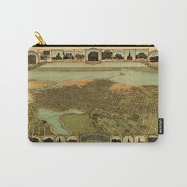 Map Of Oakland 1900 Carry-All Pouch