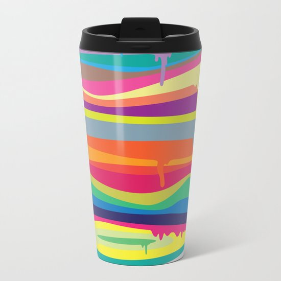 The Melting Metal Travel Mug
