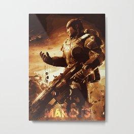 Marcus Metal Print
