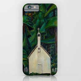 Emily Carr Indian Church iPhone Case