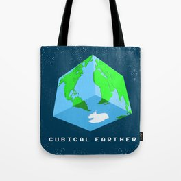 Cubical Earther Tote Bag