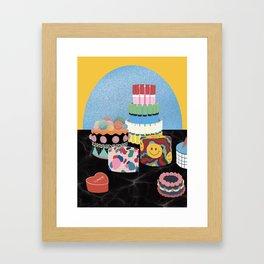 cake cake cake  Framed Art Print