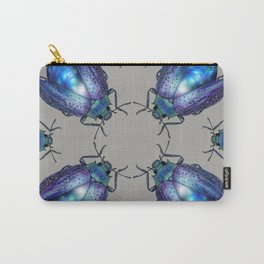 Black Opal Beetle Carry-All Pouch