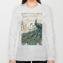 Peacock Jewels Long Sleeve T-shirt
