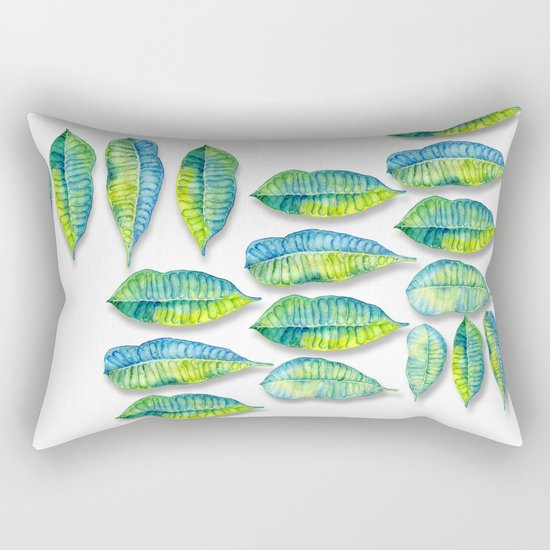 tropic leaf  Rectangular Pillow