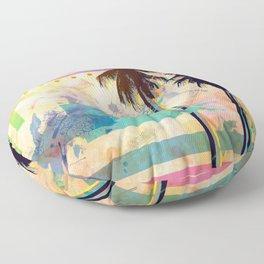 Summer Palms Floor Pillow