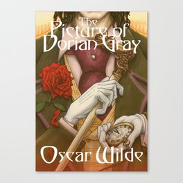 The Picture of Dorian Gray by Oscar Wilde Canvas Print