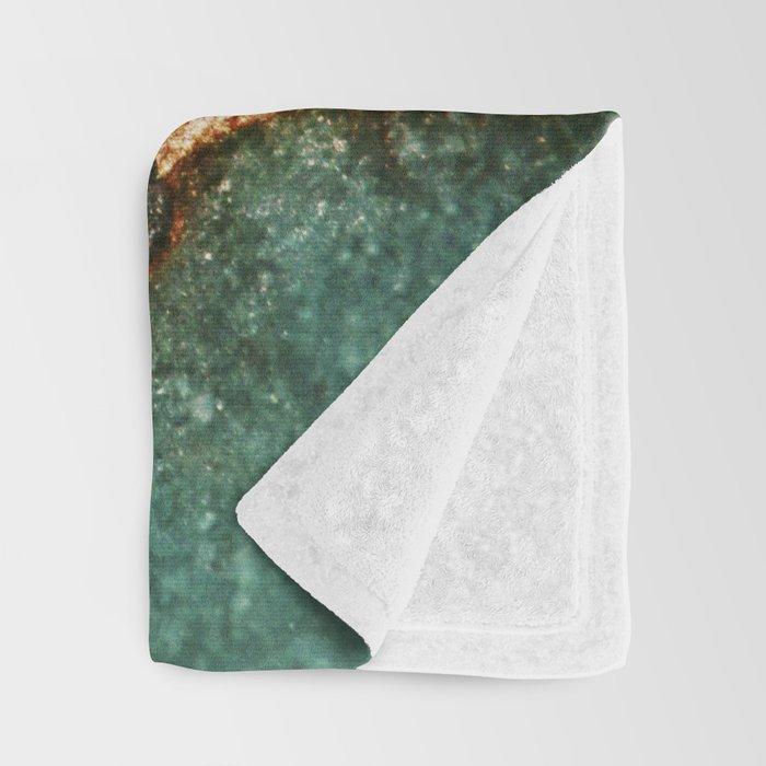 IZZIPIXX - EMERALD AND GOLD Throw Blanket