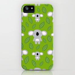 Cute koala bears iPhone Case