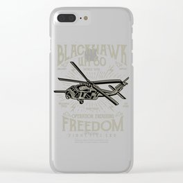 Blackhawk UH 60 Clear iPhone Case