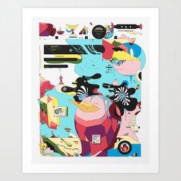 Funlandia Art Print