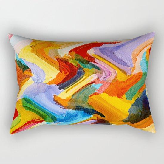 Snippet work Rectangular Pillow