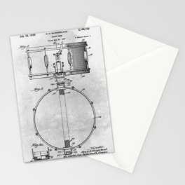 Snare drum Stationery Cards
