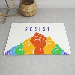 Resist (Pride) Rug