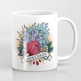 Sorcerer - Vintage D&D Tattoos Coffee Mug